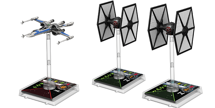 Tie Fighters and X-Wings will awake the Force in the new Core Set from FFG