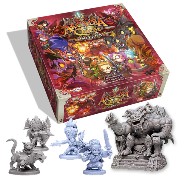 Chibi Demons and a Campaign that descends into the Inferno. I'm sold!