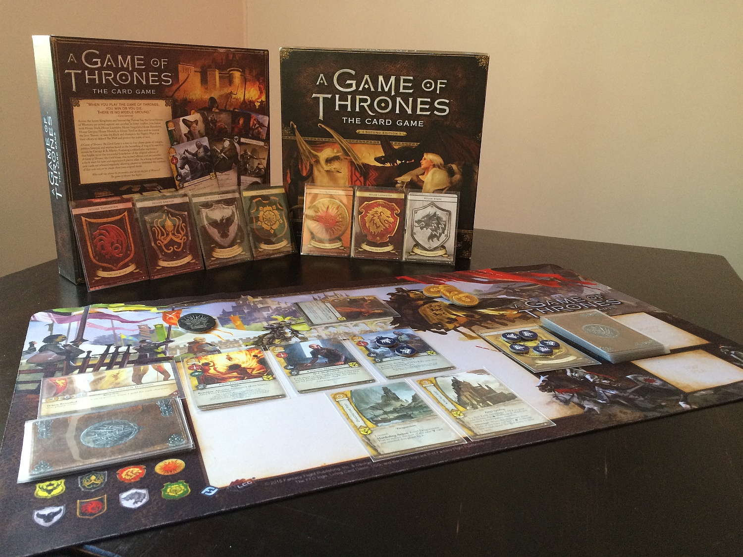 A Game of Thrones: The Card Game Review| Cardboard Quest