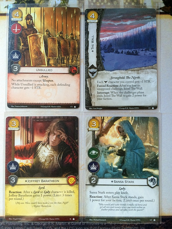 Each card has had fan service, and years of testing crafted into the Living Card Game experience.