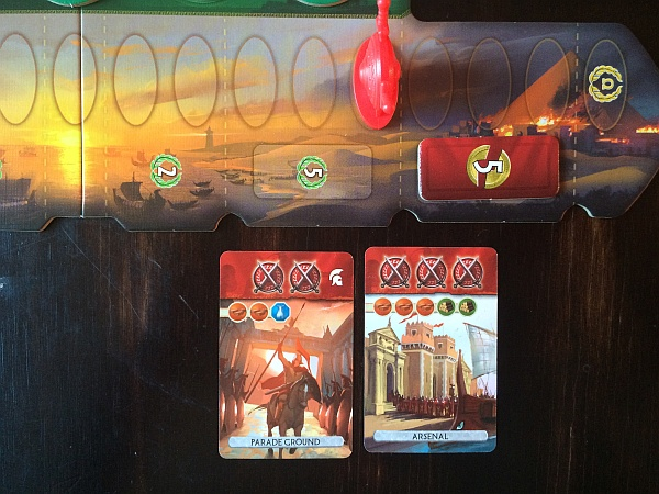 7 Wonders Duel Military Challenges