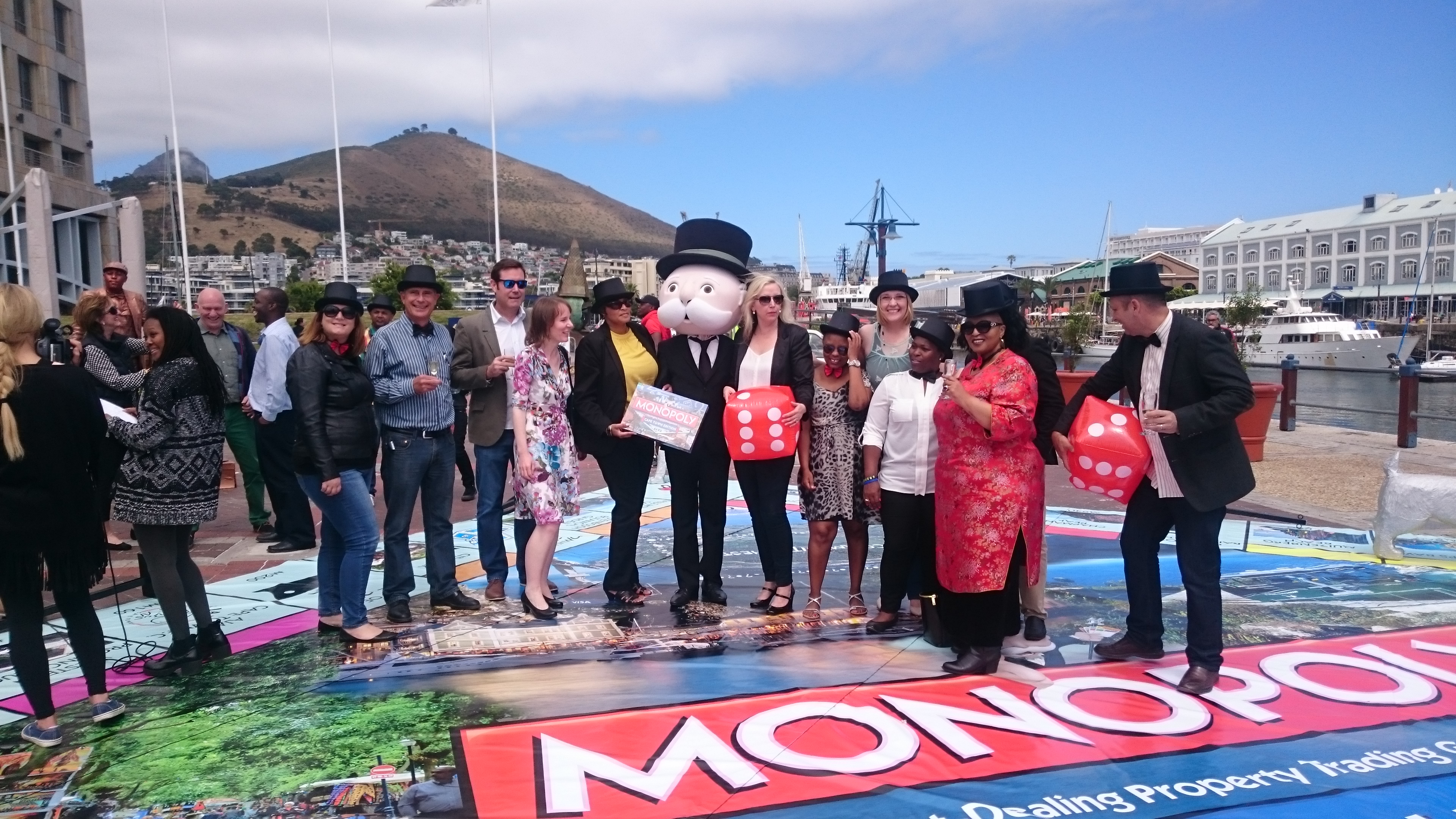 Monopoly Cape Town - Launch