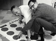 The inventors of Twister, Charles Foley and Neil Rabens