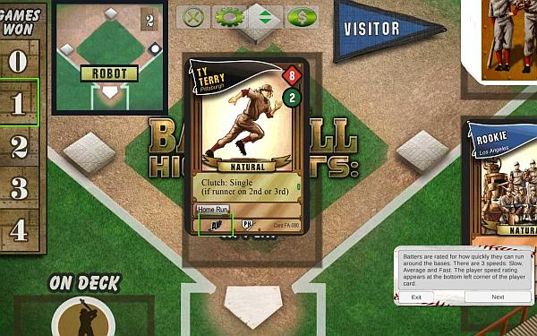 Even though I dont understand Baseball, the mechanics of this game seem to hit a home run with me.
