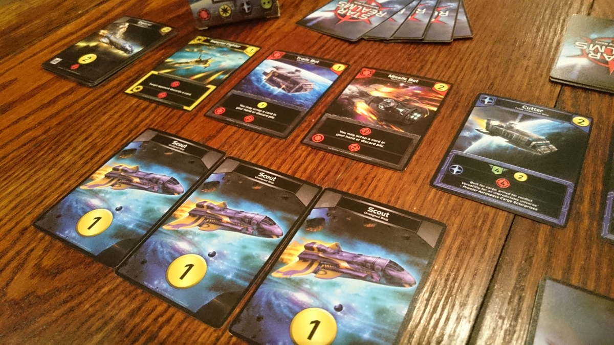 Star Realms First Turn