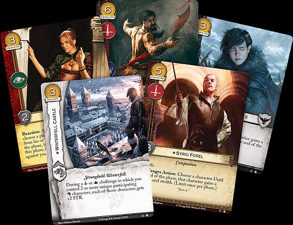 Brothel Madames, Syrio Florel and more will be in my Lannister Deck soon.