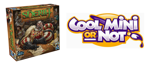 Cool Mini or Not buys Sheriff of Nottingham