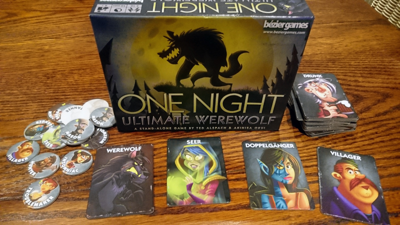 One Night Ultimate Werewolf - Contents