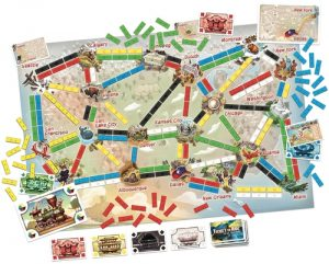 Ticket to Ride: First Journey - Components