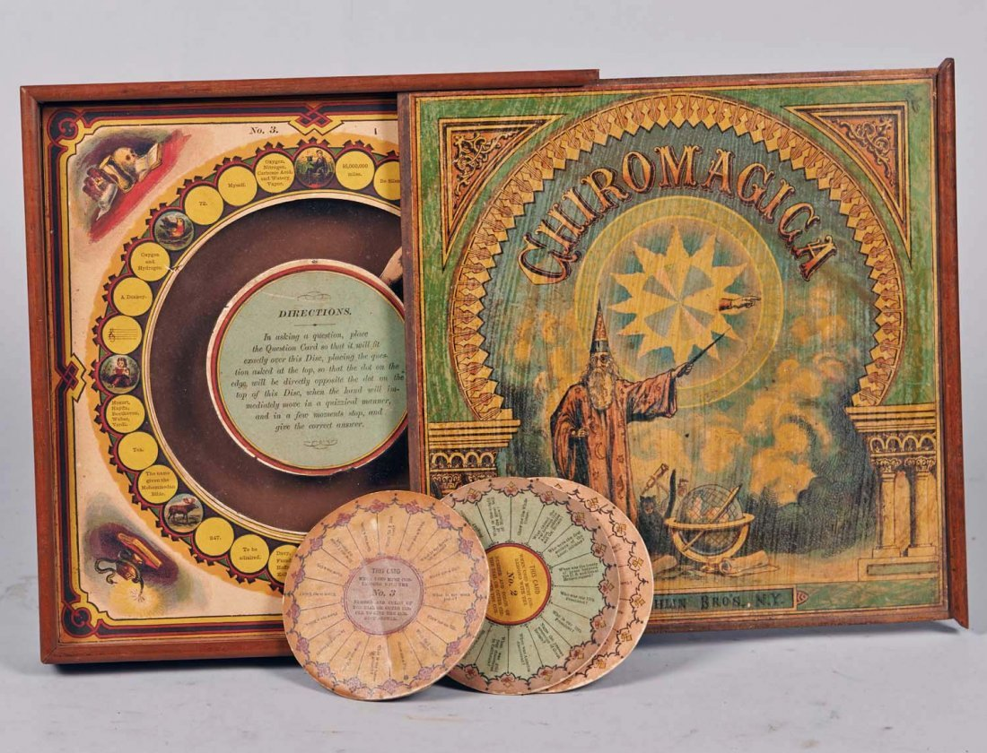Chiromagica, first released in 1870. Fantastic art design is not a modern concept.