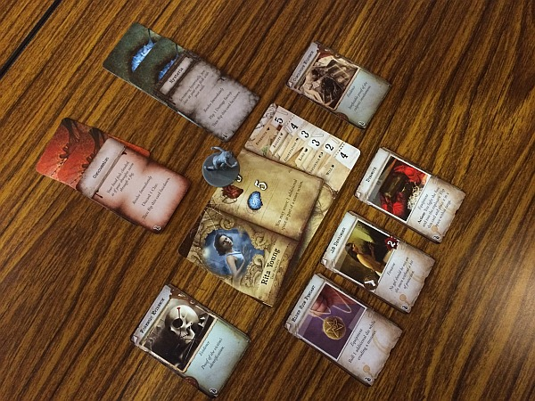 Character sheers Mansions of Madness