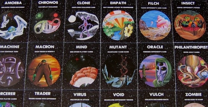 An early edition of Cosmic Encounter