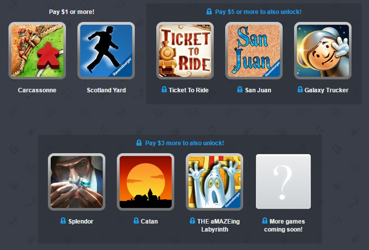 Humble Bundle - Board Games