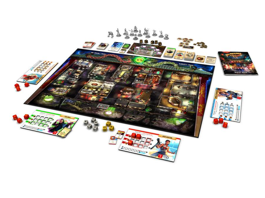 Big Trouble in Little China - Board and Pieces