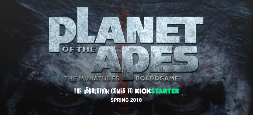 Planet of the Apes - Miniatures Boardgame
